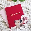 Write to me Write to me mama journal maroon - tell me about it