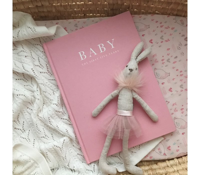 Write to me baby journal pink - birth to five years