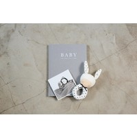 Write to me baby journal grey - birth to five years