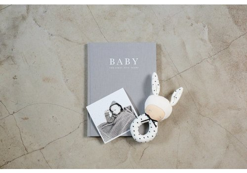 Write to me Write to me baby journal grey - birth to five years