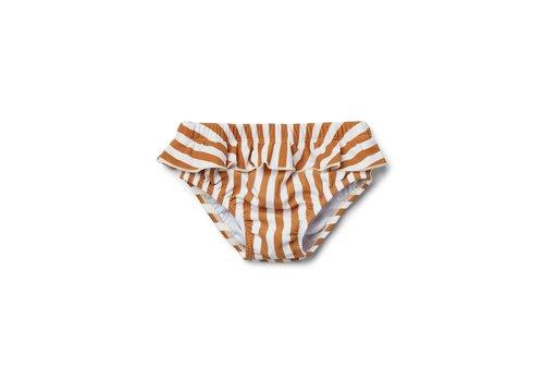 Liewood Liewood zwembroekje meisjes elise stripe mustard