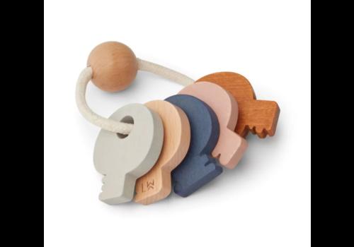 Liewood Liewood houten sleutels lucy