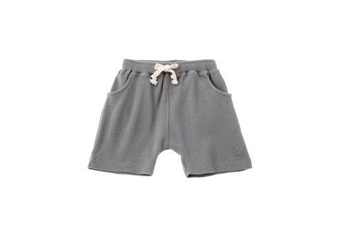 Tocoto vintage Tocoto vintage baby shorts waffle grey