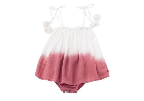Tocoto vintage Tocoto vintage baby dress tie dye