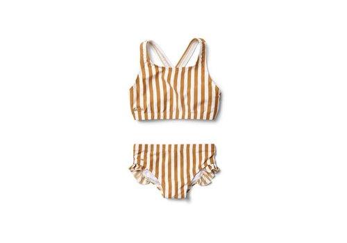 Liewood Liewood bikini juliet stripe mustard/creme