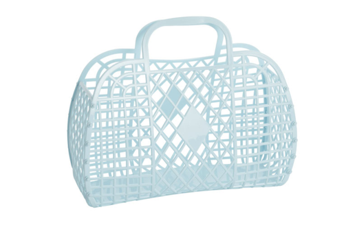 Sunjellies Sunjellies retro basket small blue