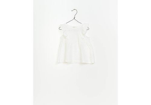 Play Up Play up tanktop ruffle white
