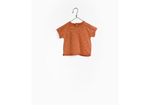 Play Up Play up t-shirt flame rust print