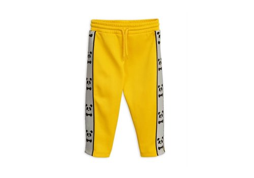 Mini Rodini Mini Rodini panda pants yellow