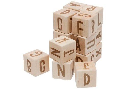 Sebra Stapelblokken alphabet 16 stuks