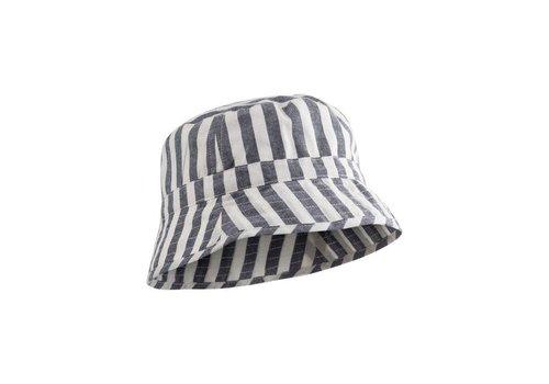 Liewood Liewood zonnehoed stripe navy/creme