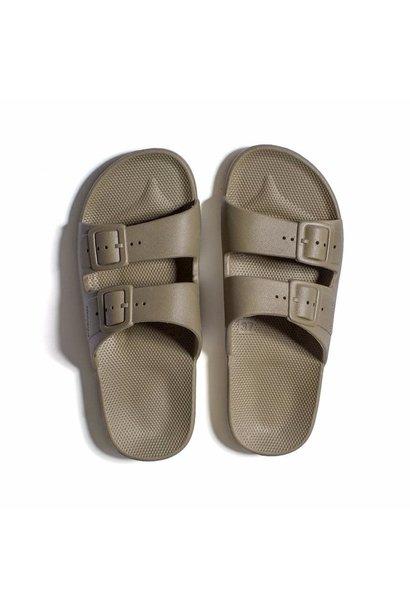 Freedom moses slippers khaki