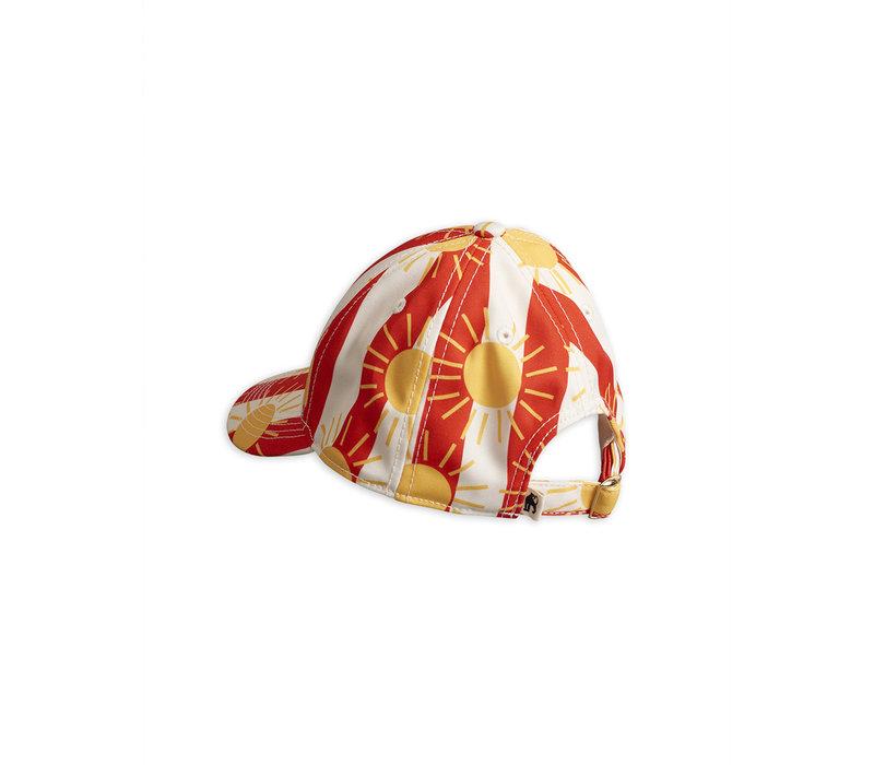 Mini Rodini pet sun streep rood