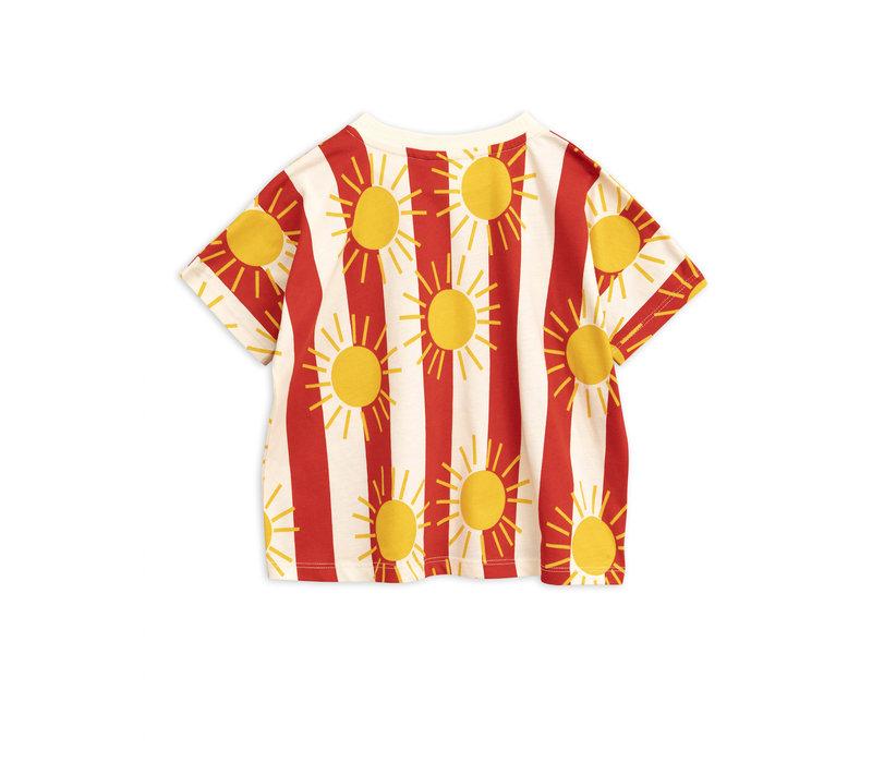 Mini Rodini t-shirt sun streep
