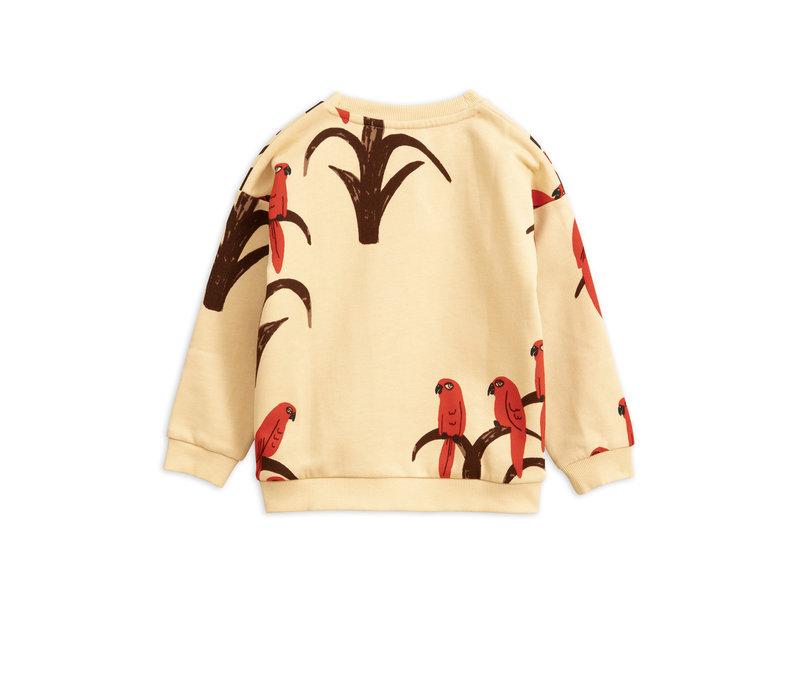 Mini Rodini sweater parrot red