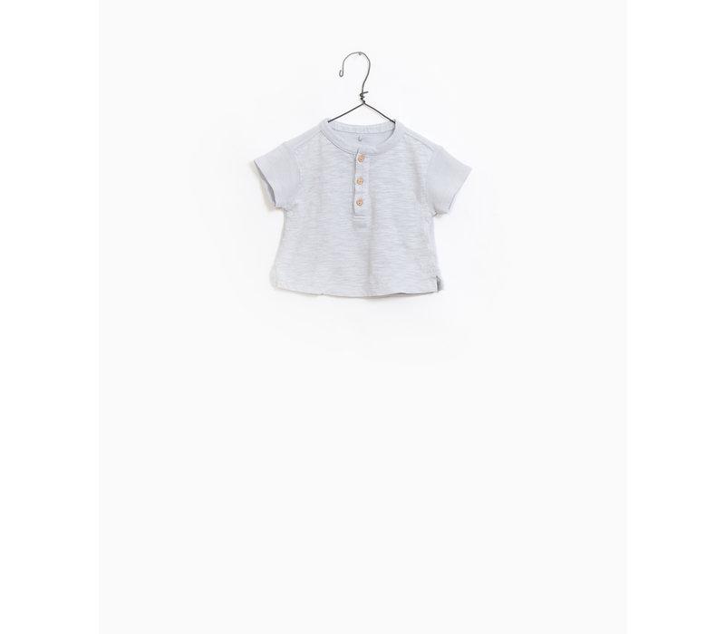 Play up baby t-shirt light blue