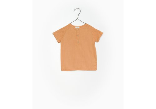 Play Up Play up t-shirt buttons orange