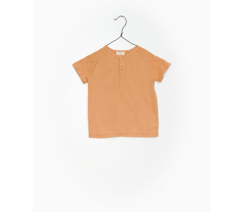 Play up t-shirt buttons orange