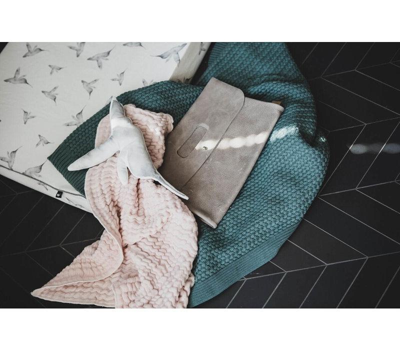 Mies & Co zomer wieg deken roze
