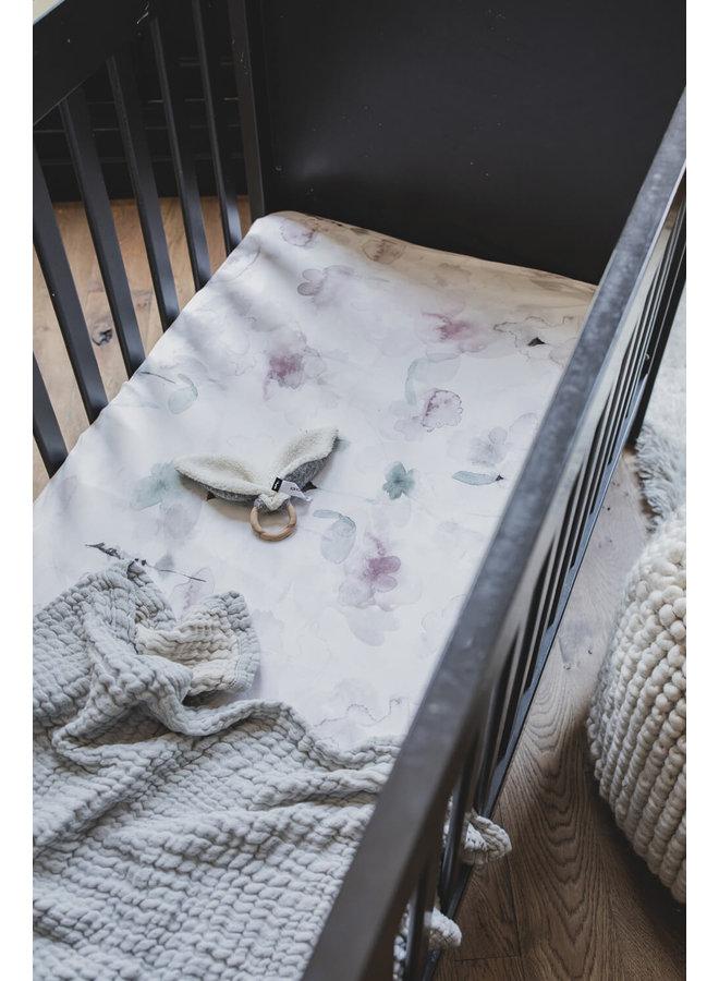 Mies & Co zomer wieg deken grijs
