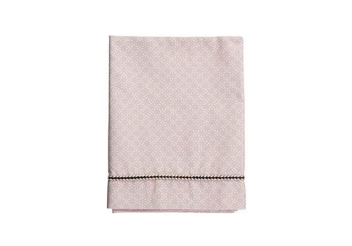 Mies & Co Mies & Co ledikant laken pretty pearls chalk pink