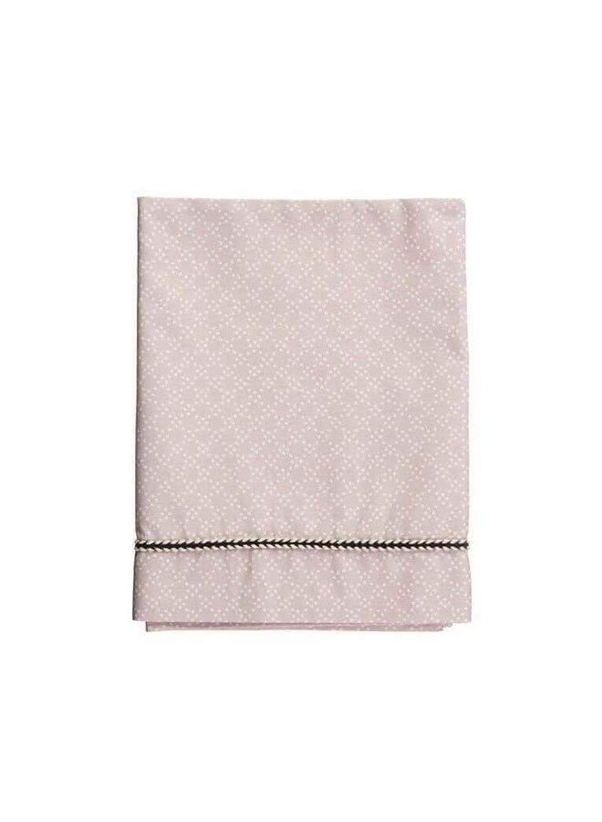 Mies & Co ledikant laken pretty pearls chalk pink