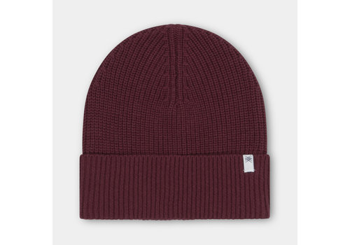 Repose Ams Repose ams knit beanie rosewood red