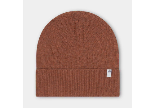 Repose Ams Repose ams knit beanie stone brown