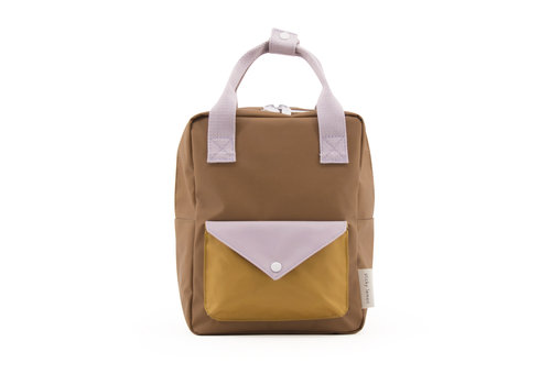Sticky Lemon Sticky lemon rugzak enveloppe caramel violet