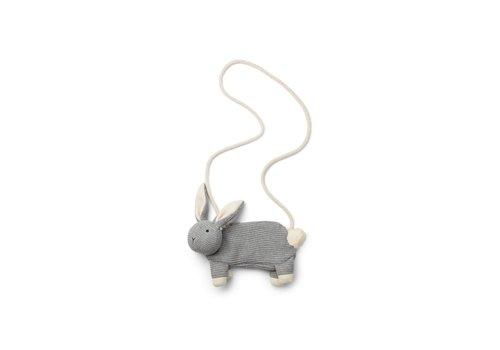 Liewood Liewood tasje grijs konijn