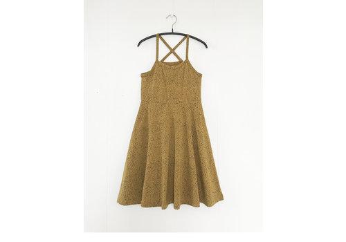GRO Company Gro jurk canne ochre