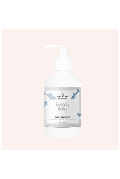The gift label baby shampoo bubbly baby