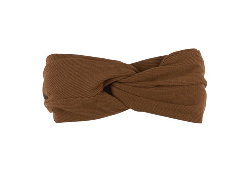 CarlijnQ CarlijnQ haarband brown basic