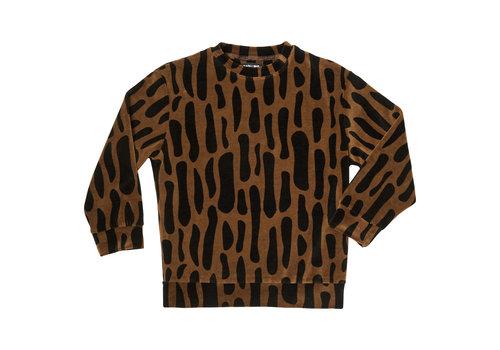 CarlijnQ CarlijnQ sweater bark velvet