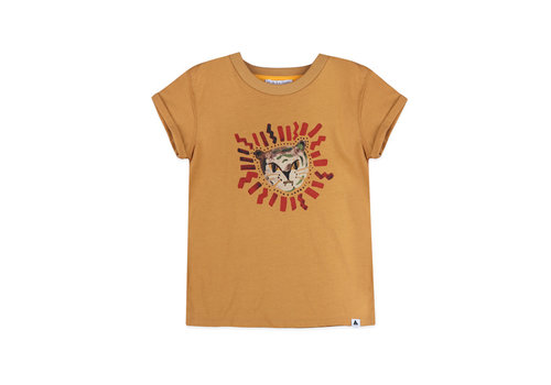 Ammehoela Ammehoela t-shirt zoe light camel