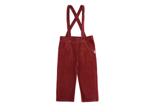 Ammehoela Ammehoela rib broek louis bordeaux
