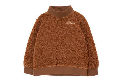 Tiny Cottons Tiny Cottons sweater citizen of luckywood brown-cream