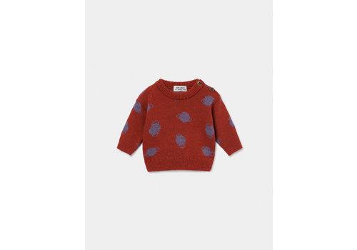 Bobo Choses Bobo Choses sweater small saturn estate blue
