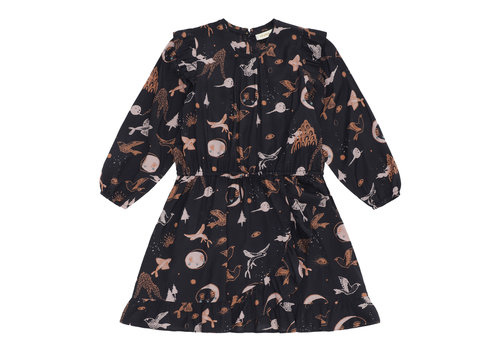 Soft gallery Soft gallery jurk ea peat print enchanted forest