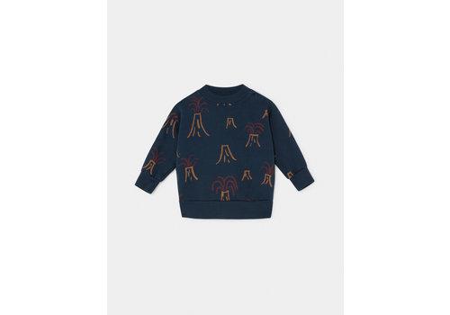 Bobo Choses Bobo Choses sweatshirt all over volcano estate blue