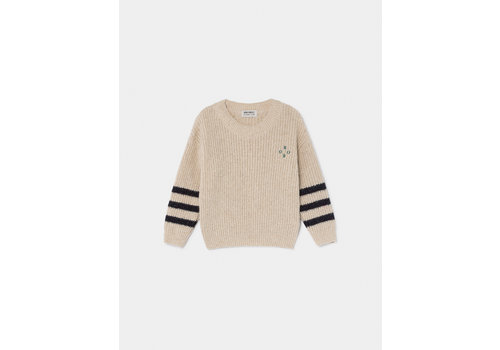 Bobo Choses Bobo Choses sweater stripes wind chime