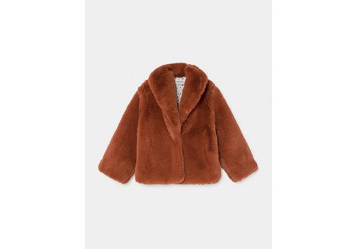 Bobo Choses Bobo Choses faux fur jacket picante