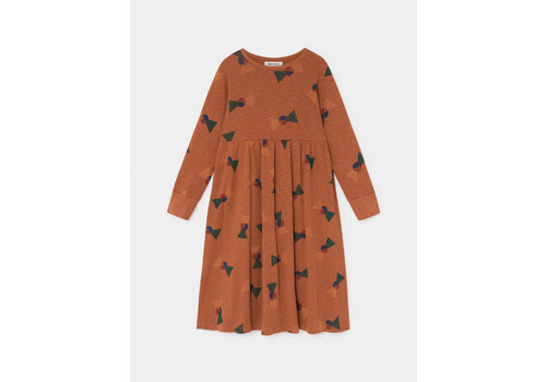 Bobo Choses Bobo Choses all over flags jersey dress picante