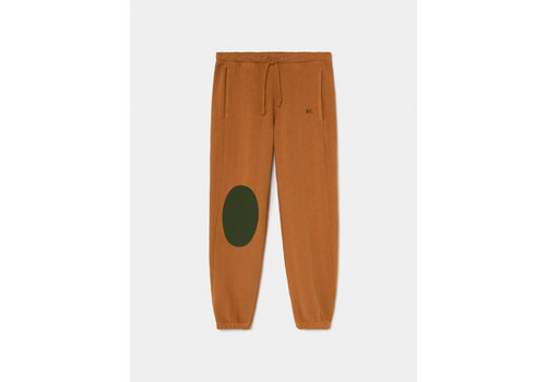 Bobo Choses Bobo Choses green patch sweatpants sudan brown