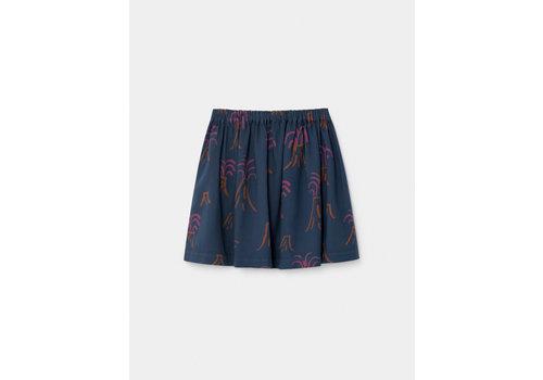 Bobo Choses Bobo Choses flared skirt all over volcano estate blue