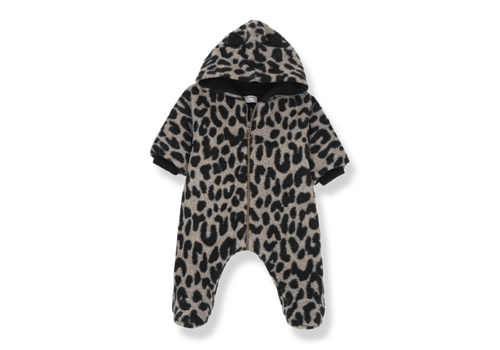1 + in the family 1 + in the family onepiece tofino leopard zwart