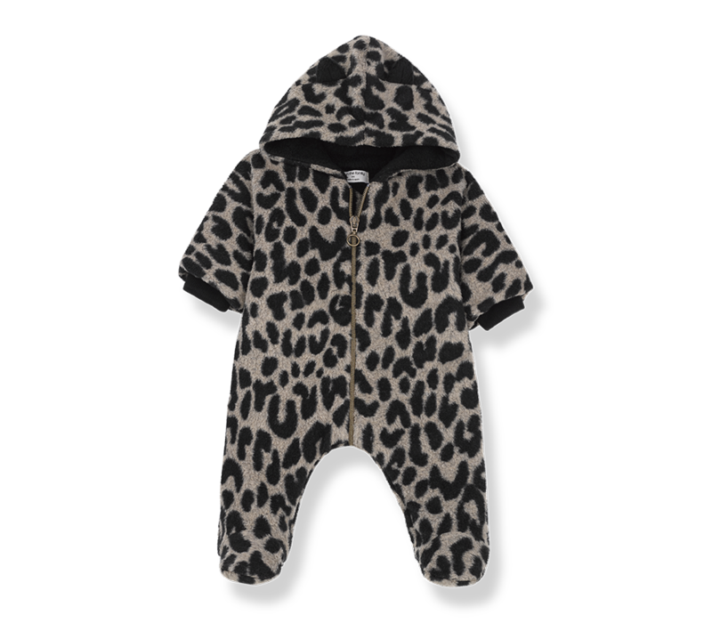 1 + in the family onepiece tofino leopard zwart