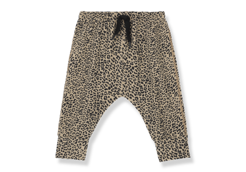 1 + in the family 1 + in the family broek amsterdam leopard zwart