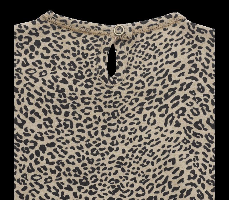 1 + in the family blouse utrecht leopard zwart