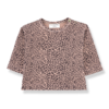 1 + in the family 1 + in the family longsleeve rotterdam leopard rose